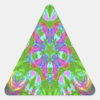 Easter kaleidoscope design image sticker