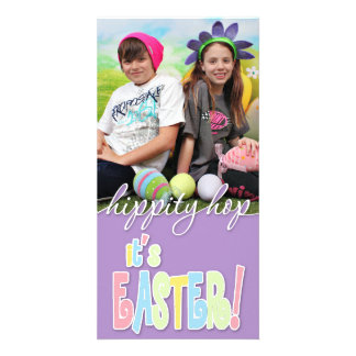 Easter - Kids Custom Photo Card
