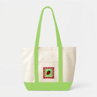 Easter Ladybug Tote Bag