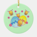 Easter Ladybugs Ornament