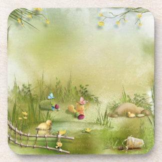 Easter Landscape Coasters (set of 6)