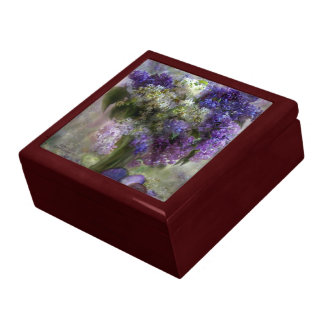 Easter Lilacs Art Gift Box