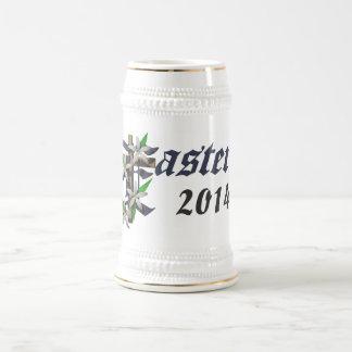 Easter & Lilies - Beer Steins
