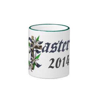 Easter & Lilies - Ringer Mug