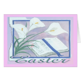 Easter Lilly Card