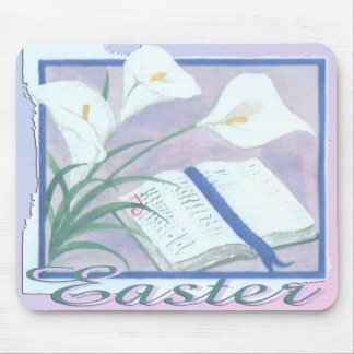 Easter Lilly Mouse Pad