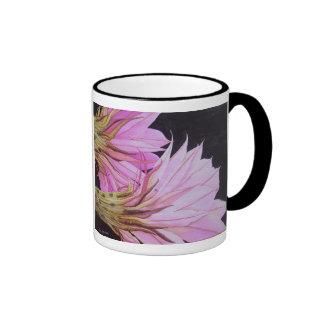 Easter Lily Cactus Flowers Ringer Mug