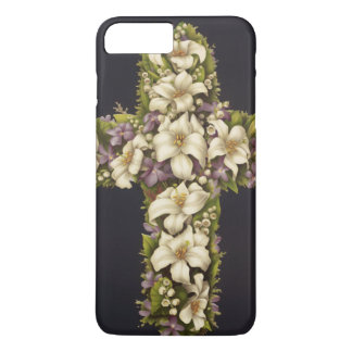 Easter Lily Cross iPhone 7 Plus Case