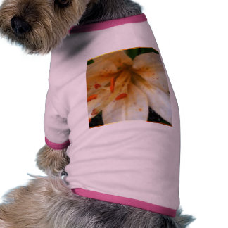 Easter Lily Doggie Shirt