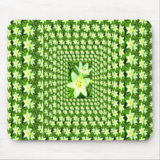 Easter Lily Extravaganza Mousepads