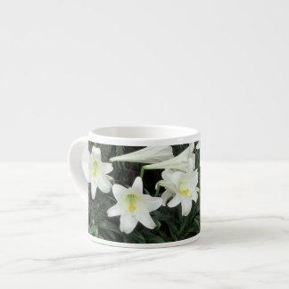 Easter Lily (Lilium regale) Espresso Cup