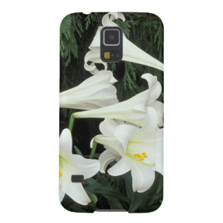 Easter Lily (Lilium regale) Galaxy S5 Cases