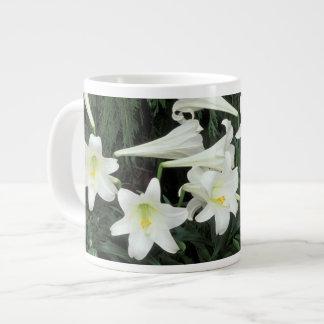 Easter Lily (Lilium regale) Giant Coffee Mug