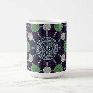 Easter Lily Mandala Array Mug