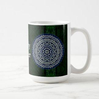 Easter Lily Mandala Mug