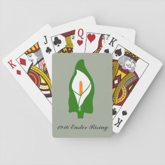 Easter Lily Playing Cards