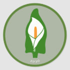 Easter Lily Stickers