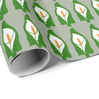 Easter Lily Wrapping Paper