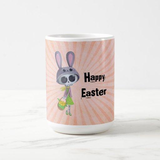 Easter Little Miss Death Mugs