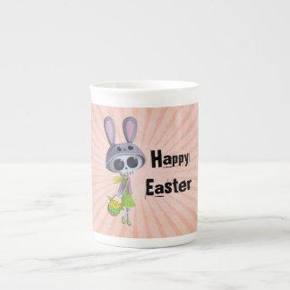 Easter Little Miss Death Bone China Mugs