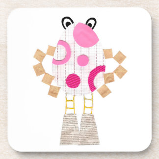 Easter Man Cork Coaster
