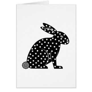Easter Martzkin Bunny Card © 2012 M. Martz