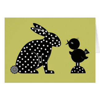 Easter Martzkin Card © 2012 M. Martz