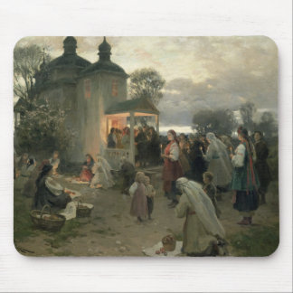 Easter Matins Mouse Pad