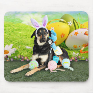 Easter - Mixed Breed - Jake Mouse Mat