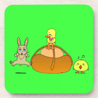 Easter Mona Coasters