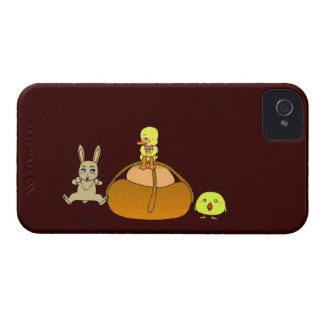 Easter Mona iPhone 4 Cover
