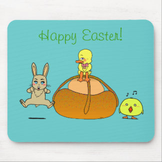 Easter Mona Mouse Pads