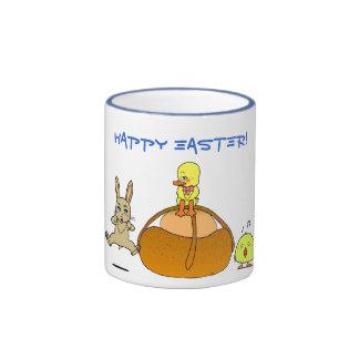 Easter Mona Ringer Mug