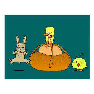 Easter Mona Postcard