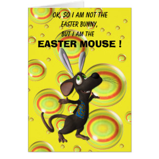 Easter Mouse Card