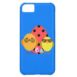 Easter or Spring Egg & Chick Family - Cute! Cover For iPhone 5C