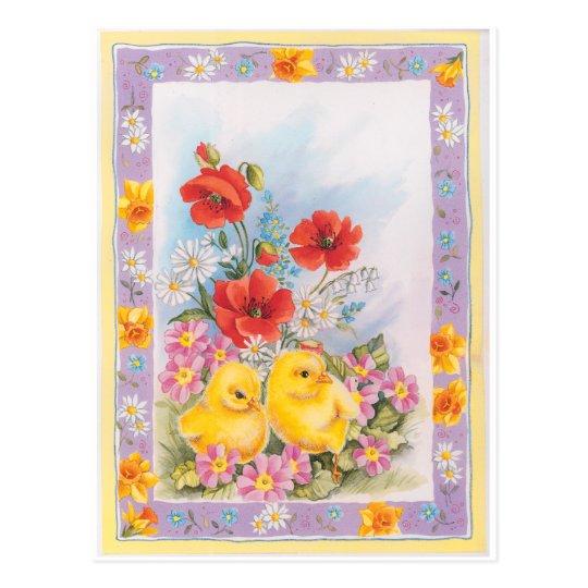 Easter, Ostern, Semana Santa, Pâques, Páscoa Postcard