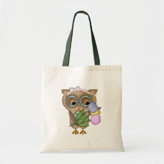 Easter Owl Holiday Tote Bag