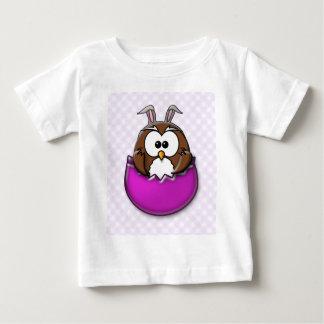 Easter owl - pink tees