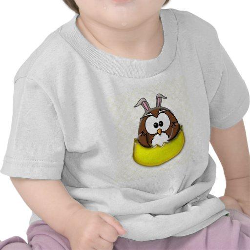 Easter owl - yellow shirt
