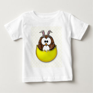 Easter owl - yellow t-shirt