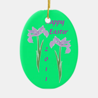 Easter Paper Iris Christmas Tree Ornament