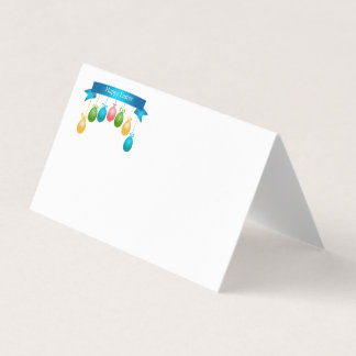Easter Party Name Place Card
