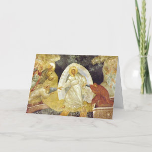 Easter/Pascha Card Anastasis Fresco Chora Church