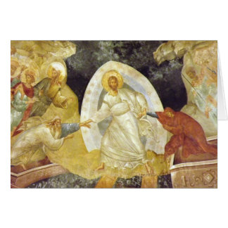 Easter/Pascha Card Anastasis Fresco Chora Church