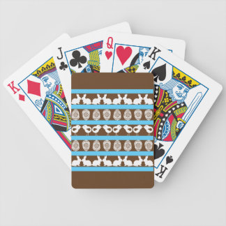 Easter pattern. Any background color Bicycle Playing Cards