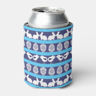 Easter pattern. Any background color Can Cooler