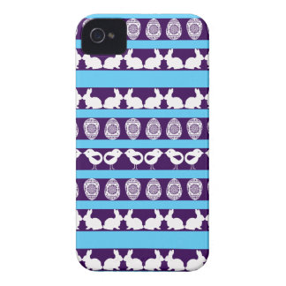 Easter pattern. Any background color Case-Mate iPhone 4 Case