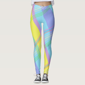 Easter Pattern Pastels Leggings