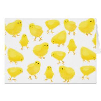 Easter Peeps Card